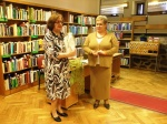 Spotkanie z Ewą Lenarczyk