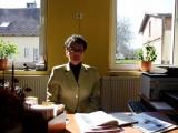 Pracownik filii w Brzeźnie Szlacheckim Lucyna Świątek-Brzezińska