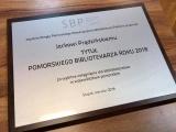 Jacek Prądziński Pomorskim Bibliotekarzem Roku 2018